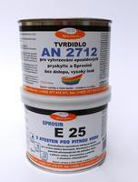 Stěrková hmota Eprosin E 25, bílá, set 535g NEW