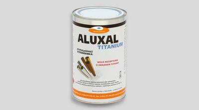 Vypalovací stříbřenka Aluxal TITANIUM 300g - 1