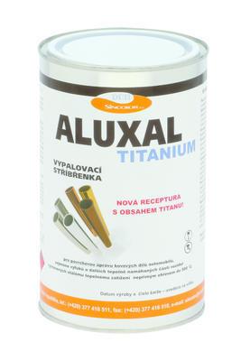 Vypalovací stříbřenka Aluxal TITANIUM 1kg - 1
