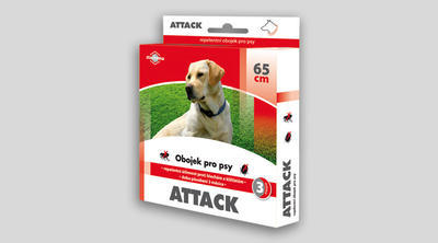 ATTACK obojek pro psy 65 cm