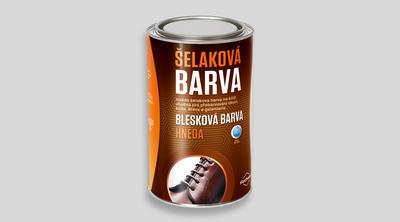 BLESKOVÁ BARVA HNĚDÁ - 1L - 1