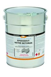 Epoxidová barva na beton LAS 2636 BE 0110 (šedá) 10kg  - 1