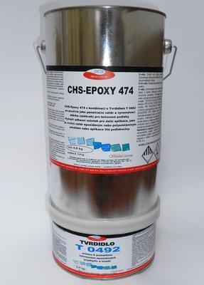 CHS-EPOXY 474/T 0492, epoxidová penetrace, souprava 4,8 kg  - 1