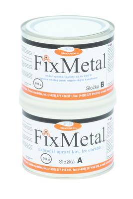 FixMetal Zinek-tixo, tekutý kov, souprava 1 kg  - 1