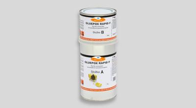 GLUEPOX RAPID F, rychlé nestékavé epoxidové lepidlo, bahama, set 10 kg - 1