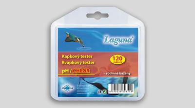 Laguna tester pH/chlor kapkový 120 - 1