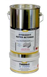 Epoxidová barva na beton LAS 2636 BE 0110 (šedá) set 4,8 kg