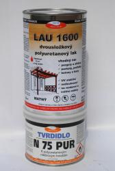 Polyuretanový lak LAU 1600 na dřevo, korek a parkety,matný, souprava 1kg