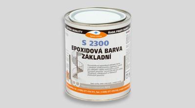 SINEPOX S 2300 antikorozní základ 0840 (červenohnědý) - set 10 kg - 1