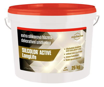SILCOLOR ACTIVE LongLife 2mm báze A 25kg - 1