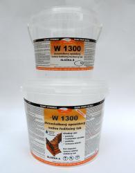 Vodouředitelný 2K epoxidový lak W 1300, hedvábný mat, set 10kg