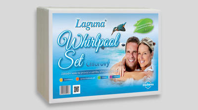 Laguna Whirpool set (Clear spray, pH mínus, tabl. 3v1 mini, tester 4 v 1) 1 ks - 1