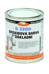 Epoxidový základ na kov S 2300 0100 (bílý) 4kg  - 1
