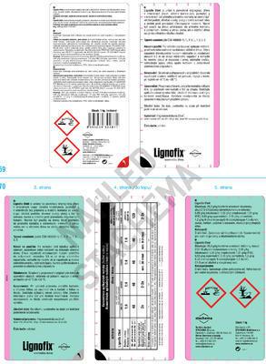 Lignofix Efekt bezb. 1 kg - 2