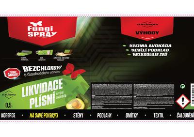 FungiSPRAY - bezchlorový avokádo 0,5 l spray - 2