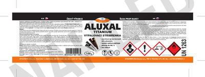 Vypalovací stříbřenka Aluxal TITANIUM 100g - 2