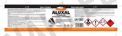 Vypalovací stříbřenka Aluxal TITANIUM 300g - 2