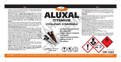 Vypalovací stříbřenka Aluxal TITANIUM 4kg - 2