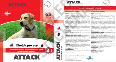 ATTACK obojek pro psy 65 cm - 2