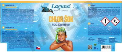 Laguna chlor šok 1 kg - 2