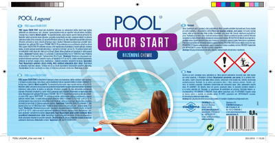 POOL Laguna chlor start 0,9 kg - 2