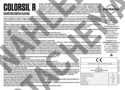COLORSIL R 1,5 mm báze A 25kg - 2