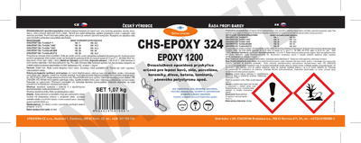 CHS-EPOXY 324 / Epoxy 1200, souprava 1,07 kg - 2