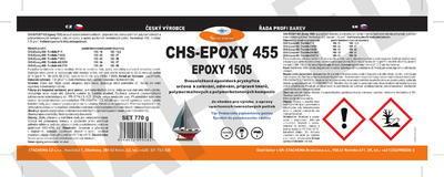 CHS-EPOXY 455 / Epoxy 1505, souprava 770g - 2
