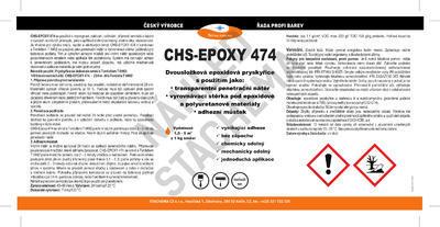 CHS-EPOXY 474/T, 0492 epoxidová penetrace, souprava 9,6kg - 2
