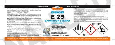 Stěrková hmota Eprosin E 25, bílá, set 535g NEW - 2