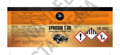 Nestékavý tmel Eprosin T 30, souprava 415 g - 2