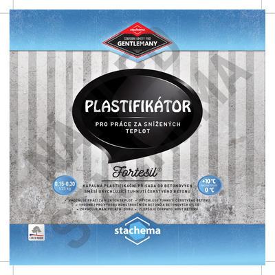 FORTESIL - plastifikátor pro práce za snížených teplot 1 l - 2