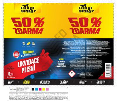 FungiSpray chlorový 0,75 l Akce 50% - 2