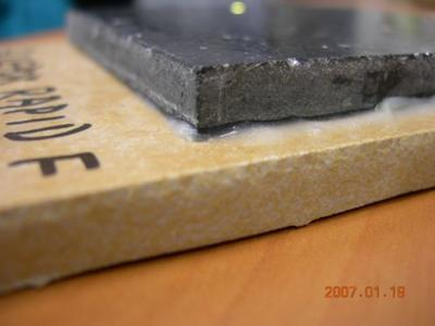 GLUEPOX RAPID F, rychlé nestékavé epoxidové lepidlo, bahama, set 1,45 kg  - 2