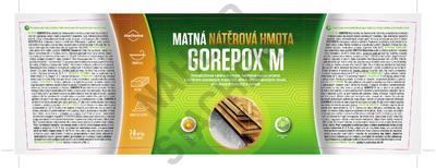 GOREPOX M, RAL 7035 (světle šedá), vodouředitelná epoxid. barva, mat, set 10kg - 2