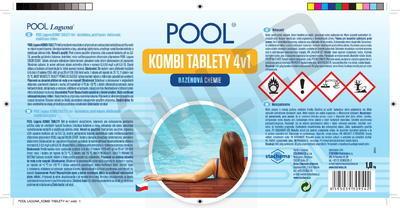 POOL Laguna KOMBI tablety 4 v 1 1 kg - 2
