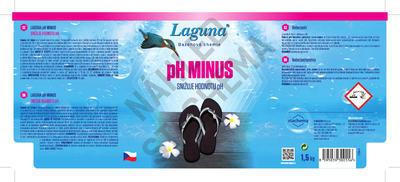 AKCE Laguna pH minus  + 50% ZDARMA - 2