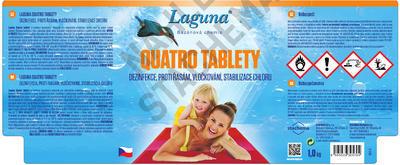 Laguna Quatro tablety 5 kg - 2