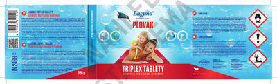 Laguna Triplex tablety PLOVÁK 0,72 kg - 2