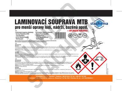 Laminovací souprava MTB 510 g - 2