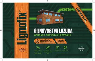 LIGNOFIX SILNOVRSTVÁ LAZURA - wenge 0,75l - 2