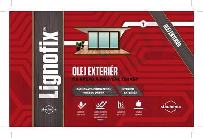 Lignofix OLEJ EXTERIÉR - borovice 2,2 l - 2
