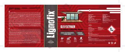 Lignofix OLEJ EXTERIÉR - antik šedý 0,6 l - 2
