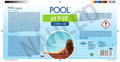 POOL Laguna pH plus 0,9 kg - 2