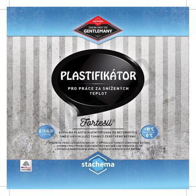 FORTESIL - plastifikátor pro práce za snížených teplot 5 l - 2