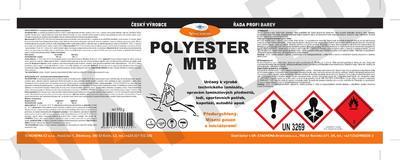 Polyester MTB, souprava 10,2 kg - 2