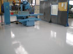 Epoxidová barva na beton LAS 2636 BE 0110 (šedá) set 1,2 kg  - 2
