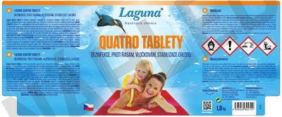 Laguna Quatro tablety 4v1 1 kg - 2