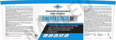 SINEPOX S 2636 BE0110 (šedá) - set 5 kg - 2