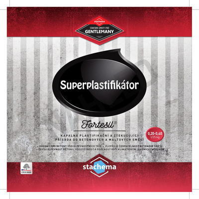 FORTESIL - superplastifikátor 5 l - 2